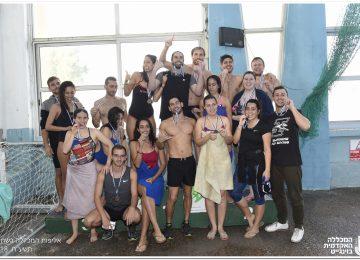 אליפות המכללה בשחייה 2018