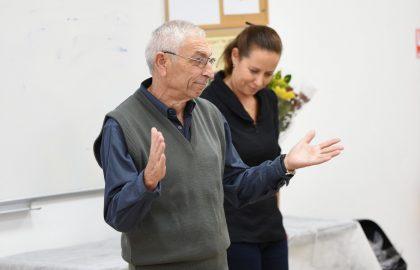אירוע פרידה מאברמיקו מחלקת רישום וקבלה מנהל לומדים ושיווק 4.12.2019 תשפ