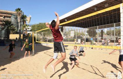 אליפות המכללה בכדורעף חופים 2019