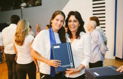 מקבלי תואר ראשון 2012